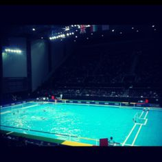 Olympic Waterpolo arena #London.... check!