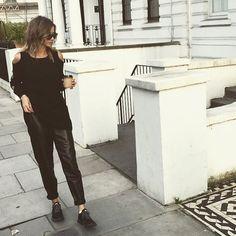 "Eleanor Calder on Instagram: ""AM coffee run.. ☕️ in @zoejordanstudio... via Polyvore featuring home y kitchen & dining"
