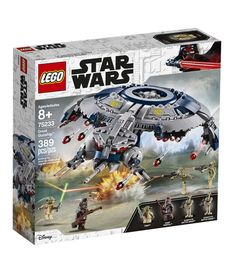 Reinforce any LEGO Star Wars construction toy collector's forces with the heavily armored LEGO Star Wars 75233 Droid Gunship. Porsche 911 Rsr, Sith, Figurine Lego Star Wars, Star Wars Droides, Lego Droid, Minifigures Lego, Train D'atterrissage, Sabre Laser, Lego War