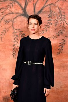 Charlotte Casiraghi attended the Chanel Croisiere (Cruise) fashion show on May 3, 2017.