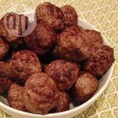 Pikante gehaktballetjes recept - Recepten van Allrecipes