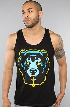 The Death Adders Tank Top in Black by Mishka