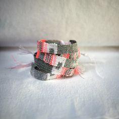 accessoire bracelet LOOM N° 16 http://myriambalay.fr/