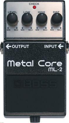 Boss - ML-2 Metal Core - Van De Moer Instruments