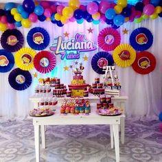 Soy luna♩ Decoracion soy luna para la artista Luciana. #soyluna #luna #partysoyluna #party #decor #barranquilla #colombia #fiestasoyluna #quilla #candy Disney Channel, Rockers, Cool Themes, Son Luna, Birthday Decorations, Birthday Ideas, Princess Party, Ideas Para, Ladybug
