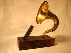 Acoustic iPhone Speaker Horn - The Symphony 1. $195.00, via Etsy.