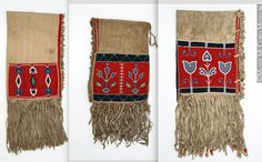 Blackfoot saddlebags, McCord Mus  ac