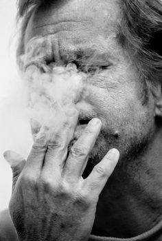 Czechoslovakia. Czech opponent Vaclav Havel, 1988 // Gueorgui Pinkhassov. Magnum Photos Photographer Portfolio