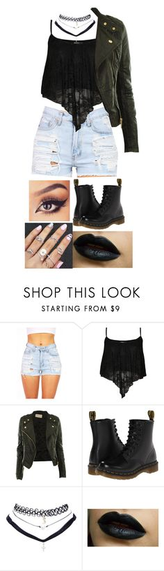"""""""Studio w/ Sammy Wilk, Skate Maloley, Jack Johnson and Jack Gilinsky"""" by sunshine-laur ❤ liked on Polyvore featuring WearAll, CO, Dr. Martens and Wet Seal"""