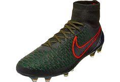 Nike Magista Obra FG Soccer Cleats - Rough Green