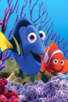 Marlin and Dory from Finding Nemo would make a cute couple costume for Halloween