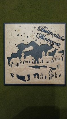 Winterdorf / Create a Card /  Made by Antje Grimm