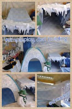 #simpleplay Jan 9th den building in my winter wonderland