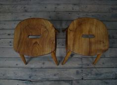 Vintage Ercol stools. Ercol Furniture, Mid Century Furniture, Stools, Retro Vintage, Home, Benches, Stool, Haus, Homes