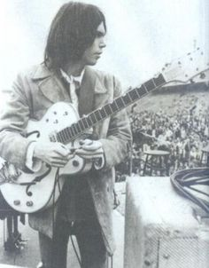 """Neil Young Neil Young refuses to sell out his music for any commercial endorsements. He has said no to every offer he ever received. He even wrote a song about his stance called """"This Note's For You. Buddy Holly, My Buddy, Neil Young, Young Movie, Crosby Stills & Nash, Jim Morrison Movie, Jazz, Kings Of Leon, Nikki Sixx"""