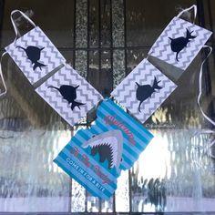 Jawsome Shark Party Door Banner
