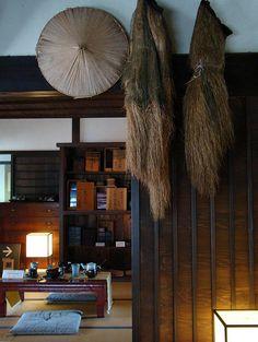 Anma Samurai House Edo Period Rain Gear by Rekishi no Tabi