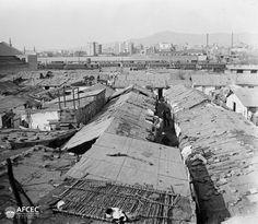 Barraques de Riera de Magòria, #Barcelona, 25 de gener de 1925 Autor Albert Oliveras i Folch (AFCEC_OLIVERAS_X_00425)