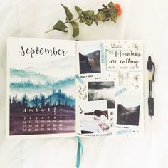 10 September Bullet Journal Cover Pages to Inspire You