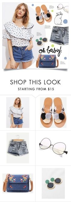 """""""Casual Summer"""" by mahafromkailash ❤ liked on Polyvore"""