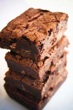 Better Than Boxed Brownies - Broma Bakery Homemade Brownies, Best Brownies, Fudge Brownies, Brownie Bar, Boxed Brownies, Brownie Heaven, Delicious Desserts, Dessert Recipes, Yogurt Recipes