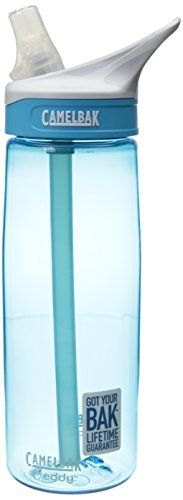 CamelBak Eddy Water Bottle, Rain, .75-Liter