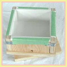 """Pinner Quote: """"Soap mold directions""""  From me to you:  This is great for starting out! I've got some upcoming pins that may be a weee bit easier that I'll post.  Good for small batches. ~p~"""