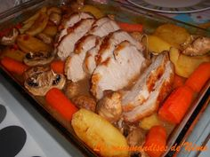rôti de porc au four et pas sec