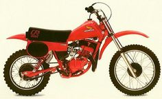 Honda CR 80 R 1980, my brother and I loved his bike. Remember falling over a few times, too.