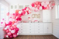 I've been obsessed with balloon arches ever since I saw the amazing one done by House Lars Built. I mean, come on. It's beyond beautiful. The gold standard. She's produced a g…