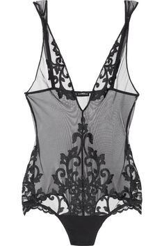 La Perla bodysuit.  Love this piece.  Somewhere between lingerie and a tattoo