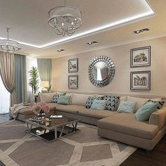 Living room neutral color palette | Living room color ...