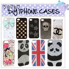 DIY PHONE CASES by fashion-is-my-life-288 on Polyvore followme :)