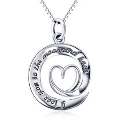 Genuine 925 Sterling Silver Heart letter Pendant Necklace Fashion Jewelry Love Message Necklace Valentine's Gifts For Women Letter Pendant Necklace, Back Necklace, Letter Pendants, Love Necklace, Heart Necklaces, Knot Necklace, Sterling Silver Heart Necklace, Sterling Silver Pendants, Silver Ring