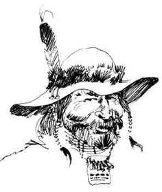 A Glossary of American Mountain Men Terms, Words and Expressions [Image from sketch donated to AMM by John Clymer]