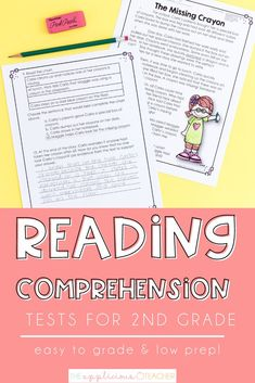 Reading Assessment, Reading Test, Third Grade Reading, Reading Intervention, Student Reading, Second Grade, 4th Grade Classroom, High School Classroom, Classroom Ideas