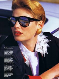 'Taming the Imports' from……………Vogue Australia August 1984 feat Carol Jackson