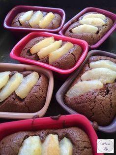 Moelleux poire chocolat - la recette