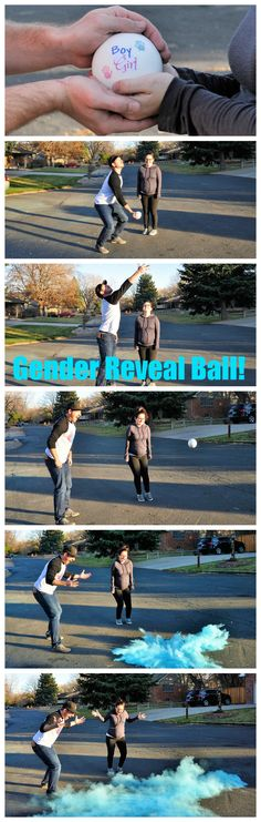 Cute Gender Reveal Idea!! Exploding Gender Reveal