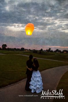 Pretty with the moon too. But, this is a must have shot if there is a path/walkway @ the reception.