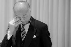 涙がこぼれてもいいじゃない。こんなに嬉しいことはない。 ウェディングフォト ブライダルフォト Paseo Bridal http://www.onuki.tv/bridal