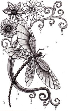Fly+Away.+Beautiful+and+original+whimsical+abstract+by+Artwyrd,+$65.00