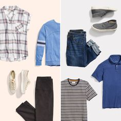 How do you take your casual? See the Stitch Fix guide to his and hers casual dressing—complete with your favorite sneaks and lived-in jeans.