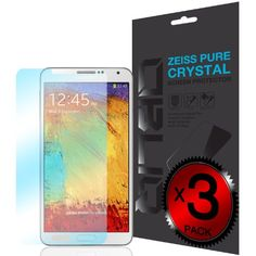 [Pure Crystal] - Obliq Samsung Galaxy Note 3 Screen Protector Zeiss Pure Series - 3 Pack - Premium Japanese Film... - List price: $16.99 Price: $6.99