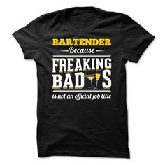 LAST CHANCE BARTENDER IS AN AWESOME JOB T-Shirts, Hoodies, Sweatshirts, Tee Shirts (22.99$ ==► Shopping Now!)