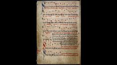 SUMER Is ICUMEN In, f.11v (Round) Music was a major part of secular and spiritual culture in the Middle Ages. The development of music and its notation - that is, the way it was written down - can be seen in many manuscript sources. The most famous example of medieval song in English is the rota, or round, 'Sumer is icumen in', illustrated in the manuscript below. This composition is from a volume of mid-13th century manuscripts, which probably originated from Reading Abbey. The piece…