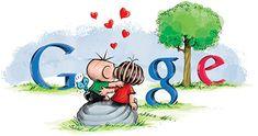 Google Doodle: Valentine's Day Brazil 2013