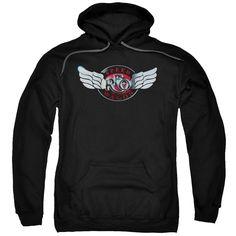 Death Angel Logo Hoodie Black Herren Rock Band Music Cool Gift Graphic Hood Top