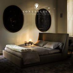 #Vivien #bed #controluce #fome #fashion