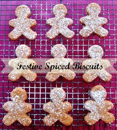 Nomsies Kitchen: Festive Spiced Biscuits